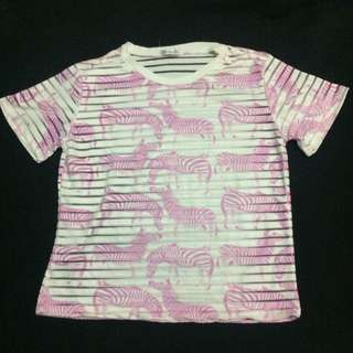 Zebra Top (Pink)
