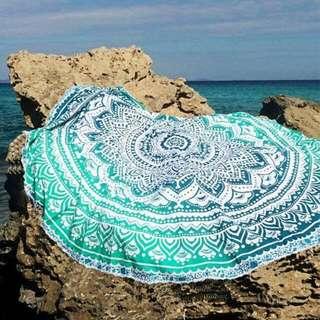 Beach Roundies/ Beach Mat/ Beach Towel