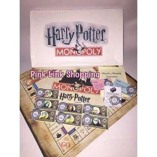 Harry Potter Monopoly Board Game (Fan-Made)