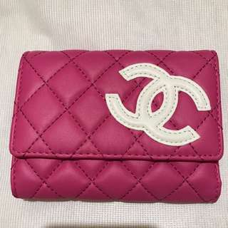 Chanel Wallet Bag Pink Brand New