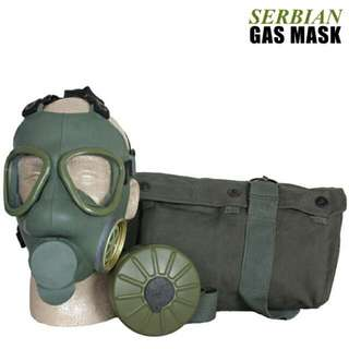 Serbian Army Gas Mask