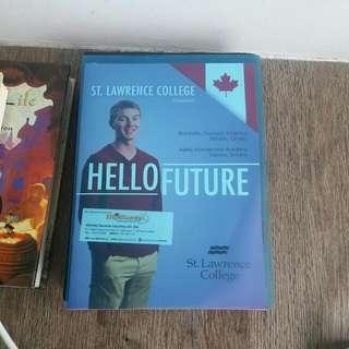 1 Fat Big Folder Of Education Brochures From EDUCATION FAIR KLCC 2016