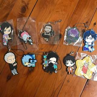 Assorted Anime Charms from Japan!