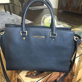 Michael Kors Black Selma