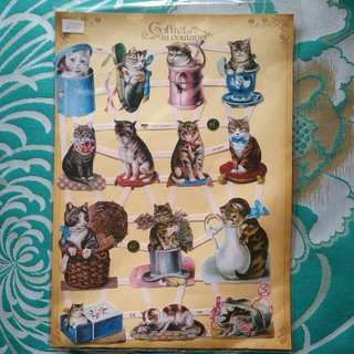 Chromos Cute Cats For Scrapbooking