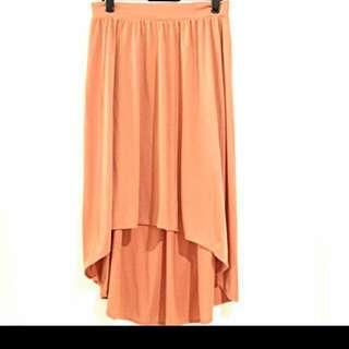 H&M Peach Long Skirt