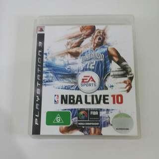 NBA Live 10 PS3
