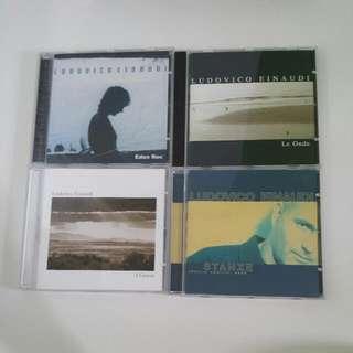 Assorted Ludovico Einaudi CDs
