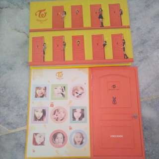 (Ready Stock)Twice 4th Mini Album Knock Knock Without PC Ver.A