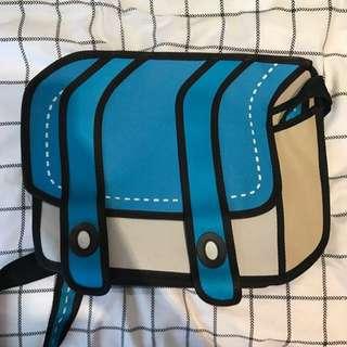 3D Book bag