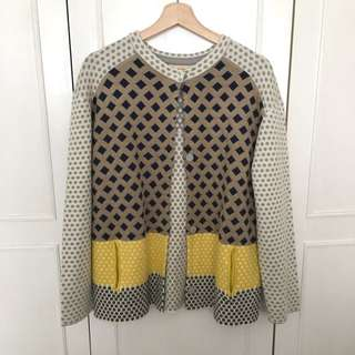 Women's Basic House Printed Cardigan (Korean Brand)