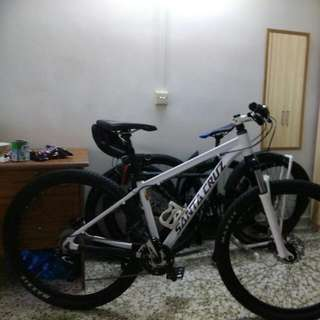 Updated And Negotiable!!!:  VISION MTB Size Medium 29er (Santa Cruz Decal) With Freebies