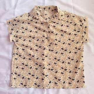 Shopper and Kitty Shirt