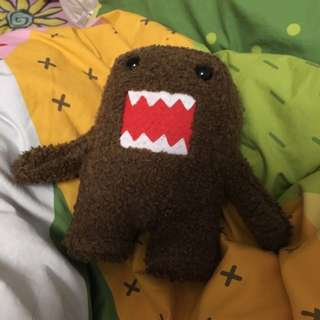 DOMO PLUSH TOY OFFICIALLY LICENSED BY NANCO