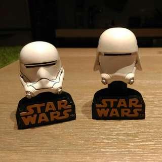 Star Wars 星際大戰 扭蛋 公仔 白兵
