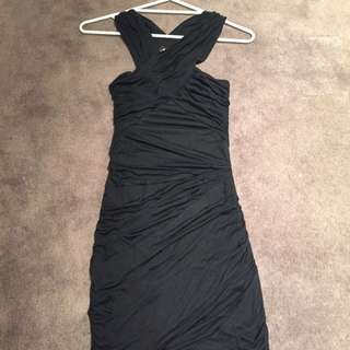 Bardot Black Evening Dress BNWT