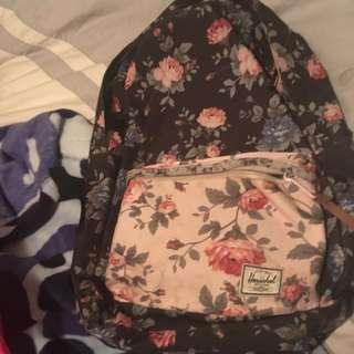 Floral Hershel Bag