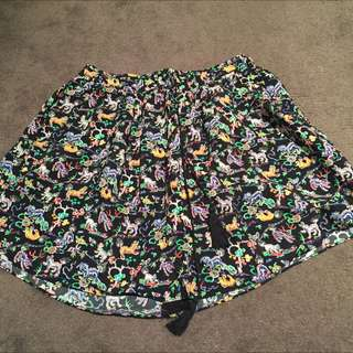 FREE ✈️ Country Road Pattern Skirt