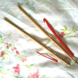 Brand New Knitting Wooden Needles