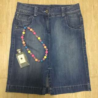 Marks & Spencer Denim Skirt