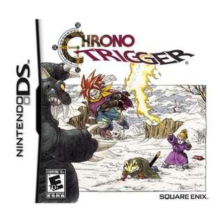 BRAND NEW SEALED - Chrono Trigger DS
