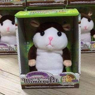 情人節 安啾同款 錄音倉鼠 迴聲小倉鼠 學說話老鼠 模仿老鼠 哈姆太郎 模仿娃娃 學說話娃娃 兒童玩具