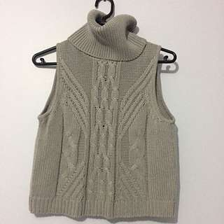 All About Eve Turtleneck Knitted Tank