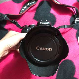 CANON 600D with 18-135mm vtr
