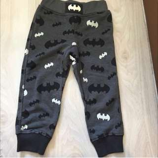 BNWOT H&M Boys Batman Jogger Pants