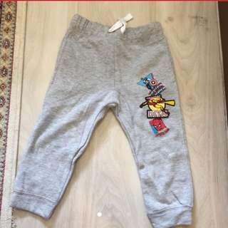 BNWOT H&M Marvel Boys Jogger Pants