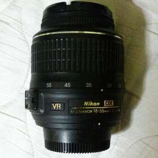 Nikon 18-55mm F3.5-5.6G VR