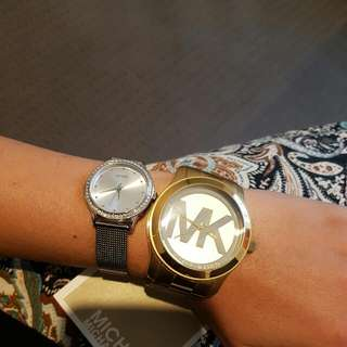 Michael Kors Ladies Gold Watch