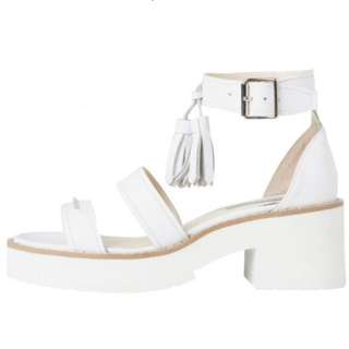 Windsor Smith Chunk Sandals White