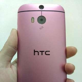HTC M8 粉紅色