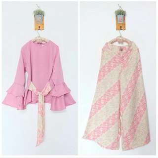 Set Batik (pink)