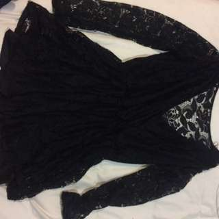 Chicabooti Lace Playsuit