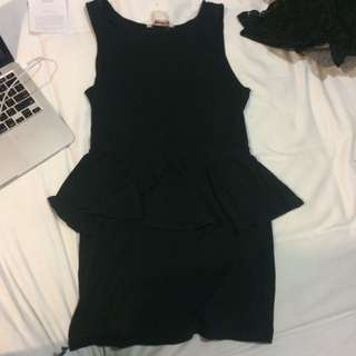 Peplum Dress Supre