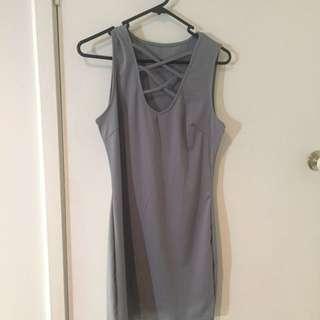 Grey Dress Size S
