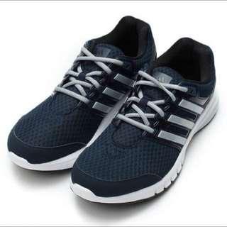 Adidas Galaxy Elite M Textile 避震輕量慢跑鞋 US10.5