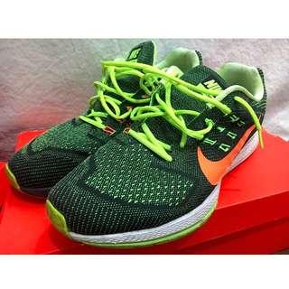 [可議價] Nike Air Zoom Structure 螢光編織配色慢跑鞋 31cm