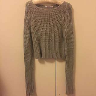 T by Alexander Wang Cropped Knit