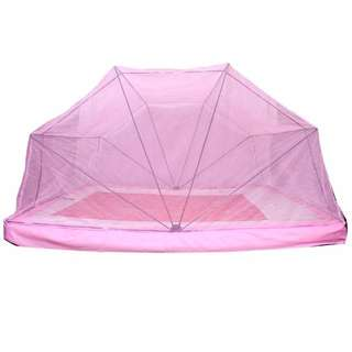 Mosquito net - pink colour - for king size bed