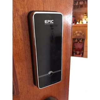 Epic N-Touch (password only) Install for Main Door or Bedrooms Door (Made in Korean / Free Installation / 1+2 Years Warranty)