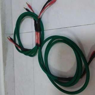 AFA ARIES SPEAKER CABLE ( 7FT/PAIR)