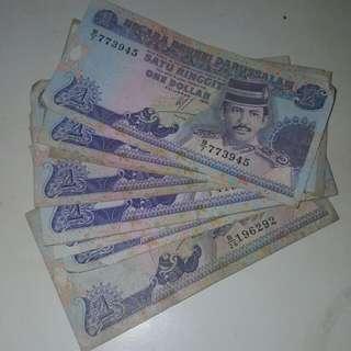 Brunei $1