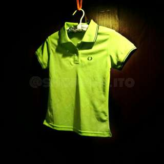 Green Fred Perry Lady's Polo Shirt