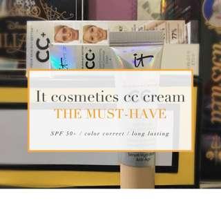 It Cosmetics cc cream 12ml