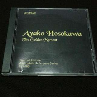 AYAKO HOSOKAWA THE GOLDEN MOMENT LIMITED EDITION AUDIOPHILE REFERENCE SERIES