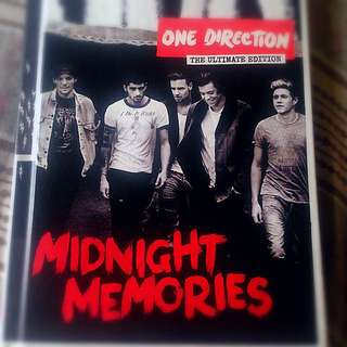 One Direction: The Ultimate Edition Midnight Memories Album