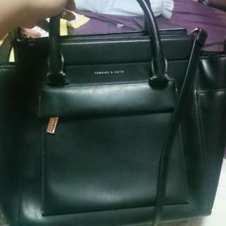 Black CHARLE's And KEITH bag For SALE!